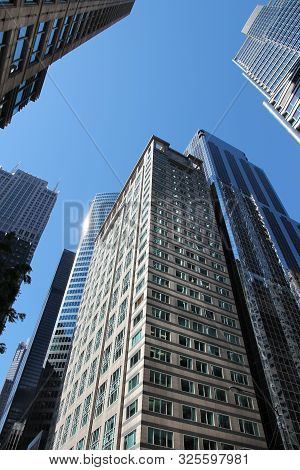 Chicago, Usa - June 28, 2013: 303 West Madison Building In Chicago. It Was Designed By Skidmore, Owi
