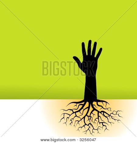Tree Hand Roots