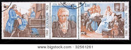 Mozart Stamps