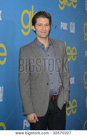 LOS ANGELES, CA - MAY 1: Matthew Morrison at the Glee academy screening and Q&A at the Leonard H Goldenson Theater on May 1, 2012 in Los Angeles, California
