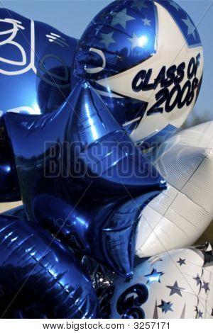 A Bouquet Of Graduation Balloons