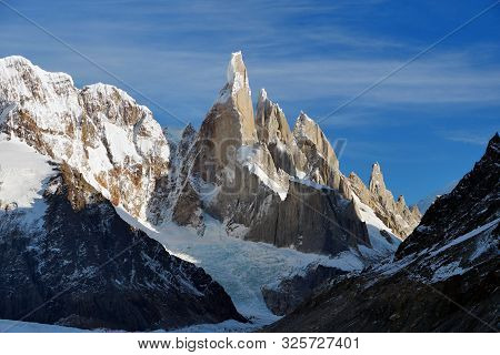 Cerro Torre. Amazing Mountains In Patagonia, Argentina