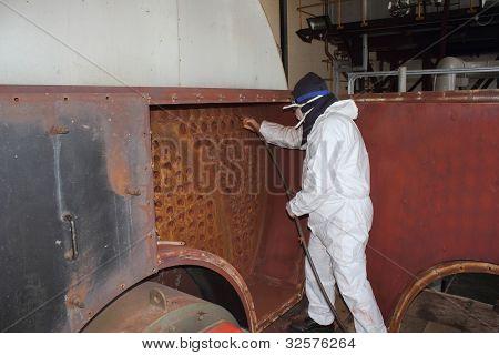 Industrial Steam Boiler Cleaner