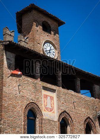 Palazzo Del Podesta In Castell Arquato, Italy