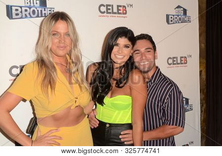 LOS ANGELES - SEP 26:  Christie Murphy, Analyse Talavera, Tommy Bracco at the