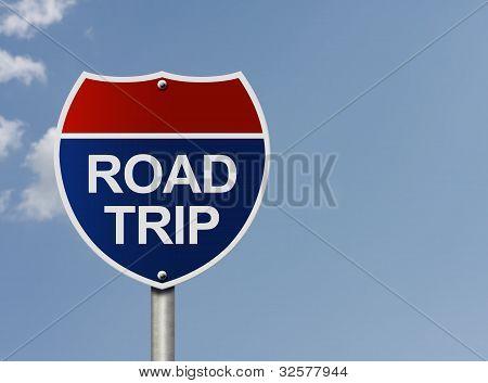 eine Straße Reise