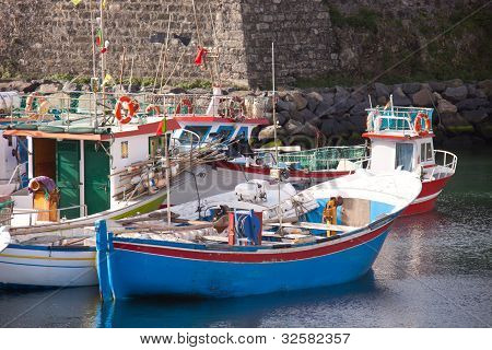 Portuguese fishing boats
