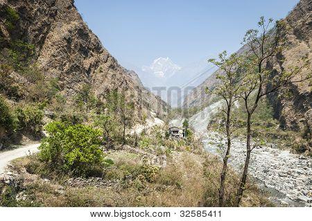Valley In Himalaya