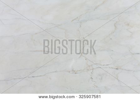 Bright White Natural Marble Texture Pattern For Background.