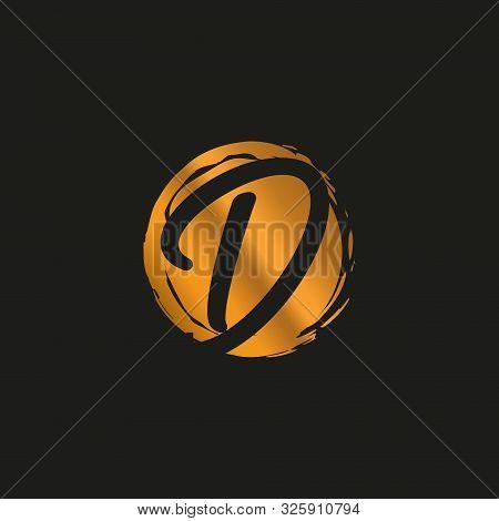 D. D Monogram Logo. D Letter Logo Design Vector Illustration Template. D Logo Vector. Creative Lette