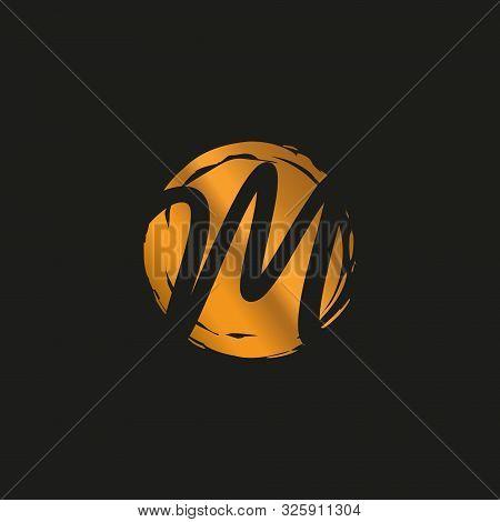 M. M Monogram Logo. M Letter Logo Design Vector Illustration Template. M Logo Vector. Creative Lette