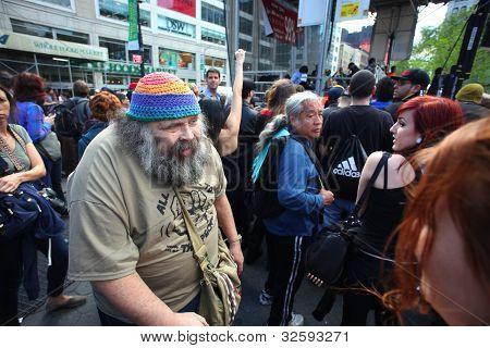 Occupy Wall Street Elder Aron Kay