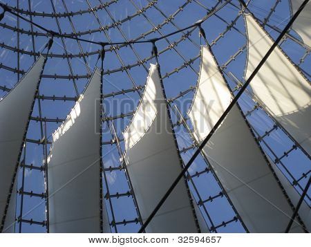 Roof Detail Of The Sony Center