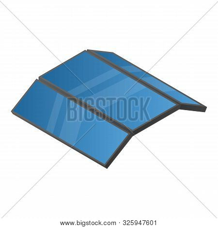 Triple Flexible Phone Icon. Isometric Of Triple Flexible Phone Vector Icon For Web Design Isolated O