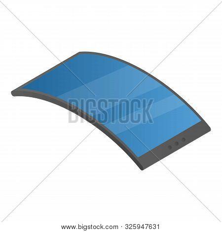 Adaptive Flexible Display Icon. Isometric Of Adaptive Flexible Display Vector Icon For Web Design Is