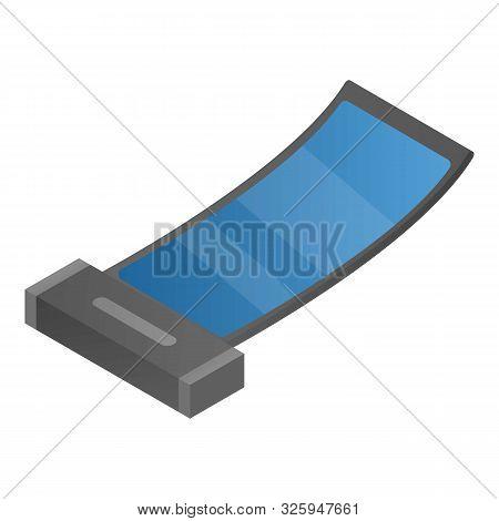 Flex Invention Gadget Icon. Isometric Of Flex Invention Gadget Vector Icon For Web Design Isolated O