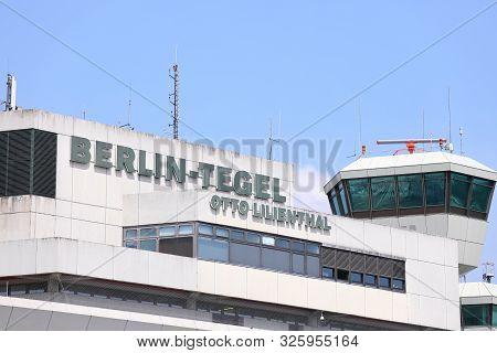 Berlin Germany - June 12, 2019: Tegel Airport Berlin Germany