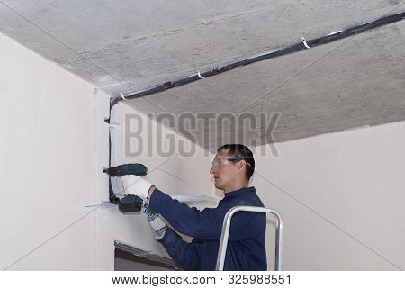 Installation Of Air Conditioning Pipes