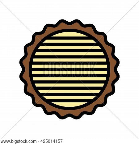 Tree Timber Color Icon Vector. Tree Timber Sign. Isolated Symbol Illustration