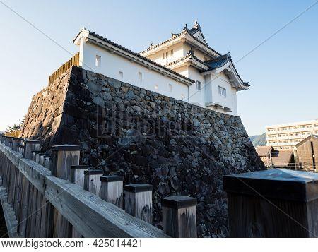 Reconstructed Tower Of Kofu Castle (maizuru Castle) In Maizuru Castle Park