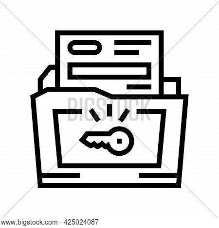 Solutions For Complex Business Operations Line Icon Vector. Solutions For Complex Business Operation