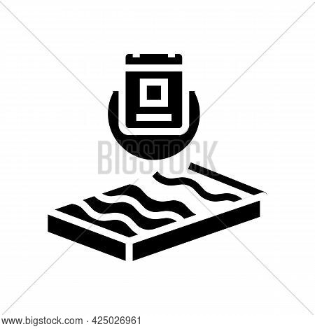 Durability Mineral Wool Glyph Icon Vector. Durability Mineral Wool Sign. Isolated Contour Symbol Bla