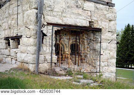 Abandoned Stone Quarry In Stonewall, Manitoba, Canada