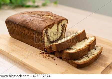 Chocolate, Mocha Or Coffee Butter Pound Cake