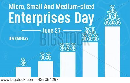 Micro, Small And Medium Sized Enterprises Day Vector Illustration Template