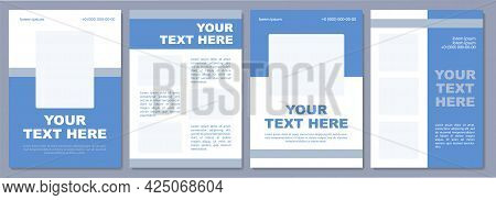 Advertising Specific Destination Brochure Template. Flyer, Booklet, Leaflet Print, Cover Design With