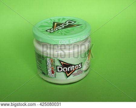 New Bern - Circa June 2021: Doritos Jar Of Cool Sour Cream And C