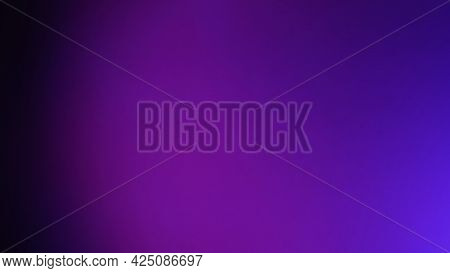 Black Purple Or Violet And Blue Color Background.abstract Blurred Gradient Background. Banner Templa