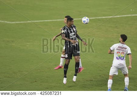 Rio, Brazil - June 27, 2021: Jo Player In Match Between Fluminense Vs Corinthians By 7st Round Of Br