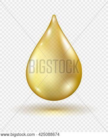 Vitamin Gel Droplet. Isolated Fruits Ingredients Oil Drop Graphic, Natural Lemon Cooking Greek Olive