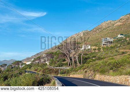 The View From Clarence Drive Towards Gordons Bay In The Western Cape Province