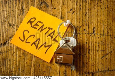 Pinned Sticker Rental Scam And Key From Apartments.
