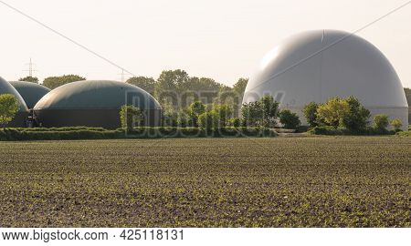 Biogas Plant For Power Generation And Energy Generation