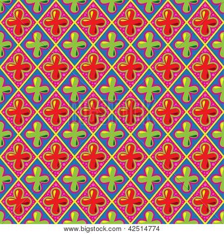 Sweet retro pattern, vector Eps8 illustration.