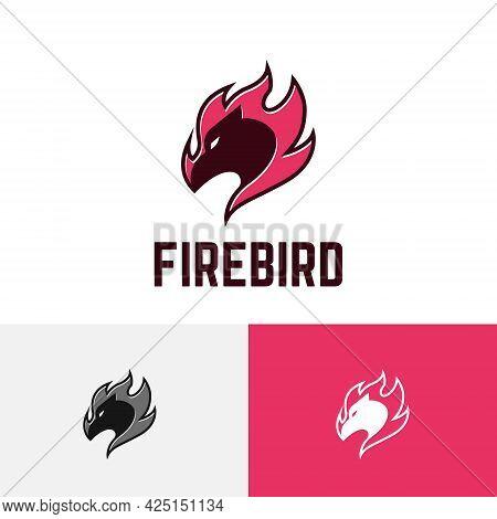 Fire Bird Phoenix Spirit Hot Flame Modern Logo