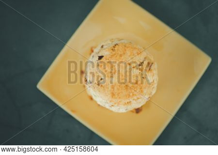 Freshly Baked Scones. Ready To Serve With Jam And Cream Or Butter.