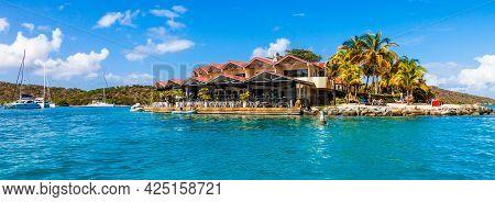 Island Resort In The Caribrean Near Virgin Gorda, British Virgin Islands.