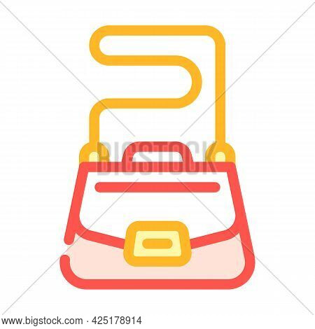 Bag Stylist Color Icon Vector. Bag Stylist Sign. Isolated Symbol Illustration