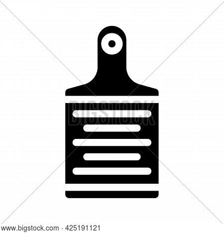 Grater Kitchen Utensil Glyph Icon Vector. Grater Kitchen Utensil Sign. Isolated Contour Symbol Black