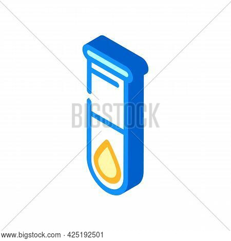 Trans Fats Isometric Icon Vector. Trans Fats Sign. Isolated Symbol Illustration