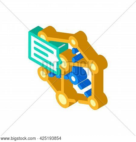 Prototyping For Production Isometric Icon Vector. Prototyping For Production Sign. Isolated Symbol I
