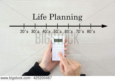 Financial Planning For Investment, Retirement And Education Concept.