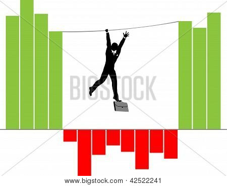 Vector_Hanging_Businessman