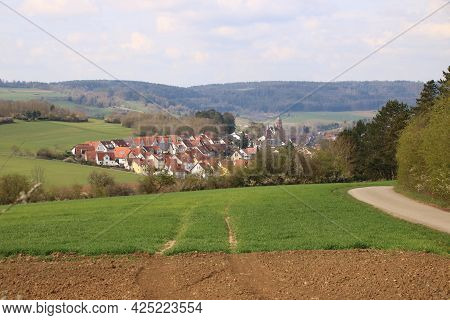 View of the town of Weil der stadt in the Boeblingen district