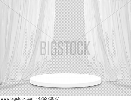 Minimal Product Podium And Scene With 3d Vector Render In Grey Background Composition, 3d Grey Mock