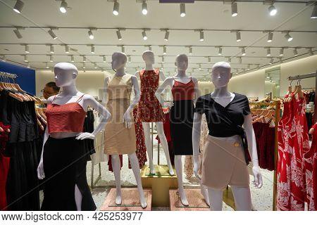 SINGAPORE - CIRCA JANUARY, 2020: interior shot of Playdress store in Singapore.